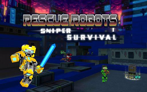 Rescue Robots Sniper Survival screenshots 17