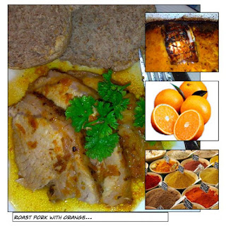 Roast Pork with Orange