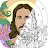 Bible Coloring - Paint by Number, Free Bible Games Icône