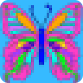 Art Pixel Coloring. Color by Number.