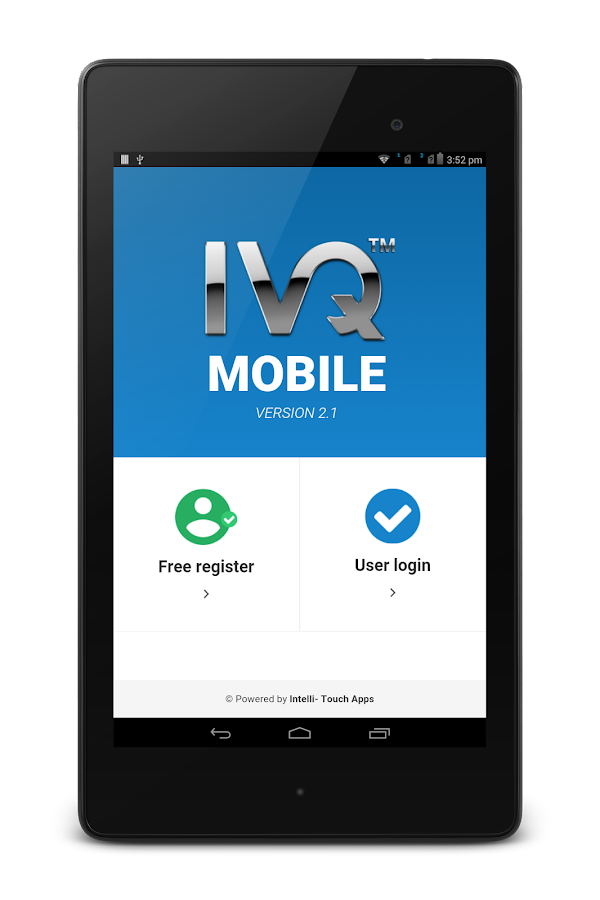 IVQMobile- screenshot