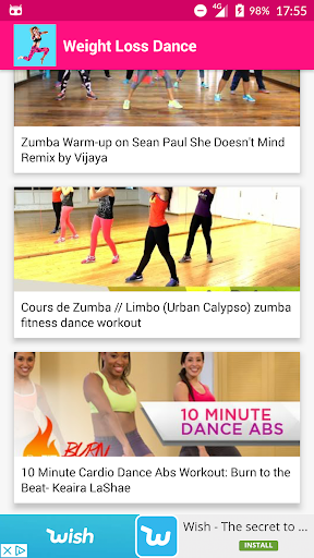 Weight loss workout - Aerobic exercise dancing app (apk ...