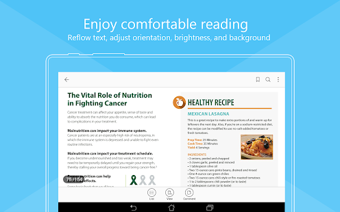 Foxit PDF Reader & Editor- screenshot thumbnail