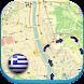 ギリシャオフラインロードマップガイド天気、ニュース