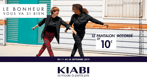 Le pantalon accordé Kiabi