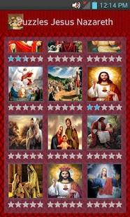 Jesus of Nazareth Puzzle - náhled