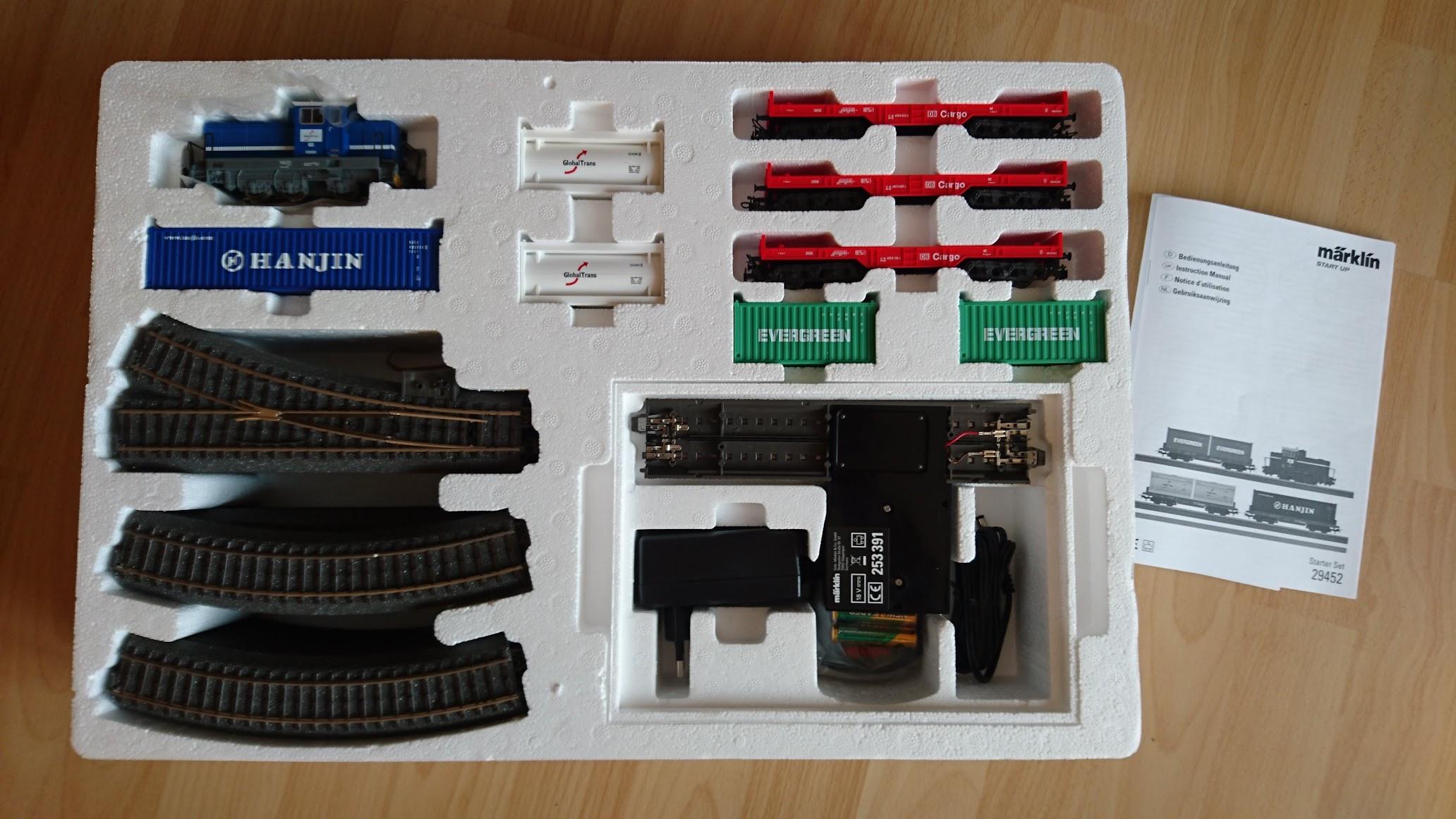 Märklin Start up Startpackung Containerzug 29452 Inhalt