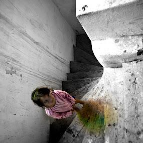 Rainbow  by Lucian Petrea - Babies & Children Children Candids ( pwcemotions )