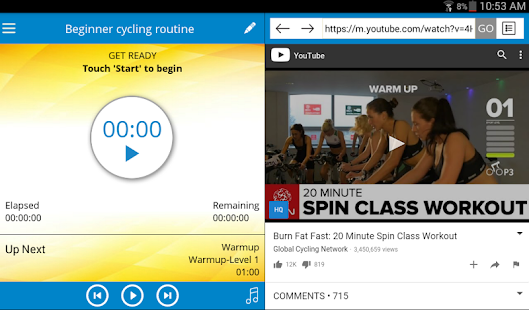 Cycling Workout- screenshot thumbnail