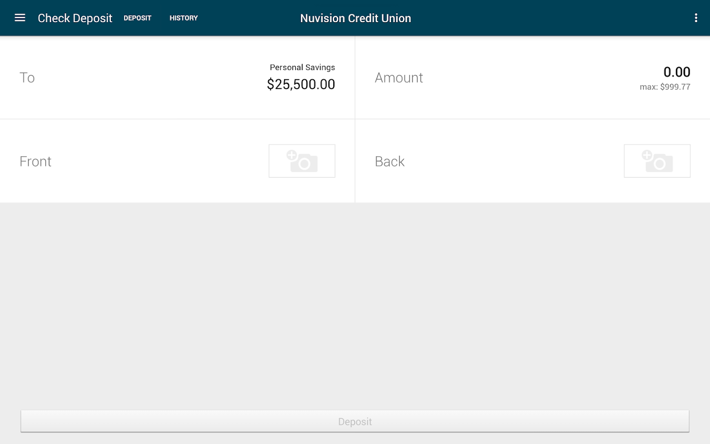 NuVision FCU – Easier Banking- screenshot