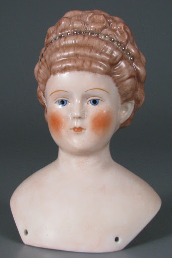 doll head: Empress Augusta