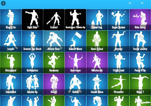 Emotes Ringtones And Daily Shop for Battle Royale screenshot 18
