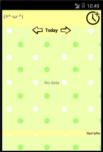 NyaTifier Alarm - Notification