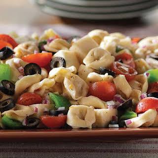 Antipasto Salad with Tortellini.