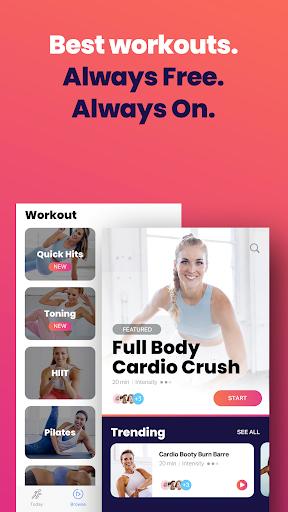 FitOn - Free Fitness Workouts & Personalized Plans 2.3 screenshots 1