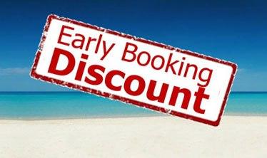 7% de descuento Early Booking invierno