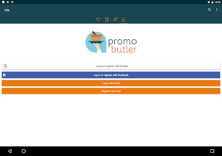 PromoButler: promo + brochures- screenshot thumbnail