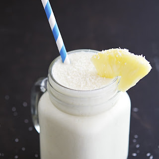 Pineapple Coconut Smoothie.
