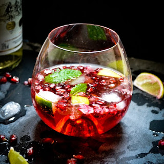 A Refreshing Summer Cocktail {Liquid Antioxidants}