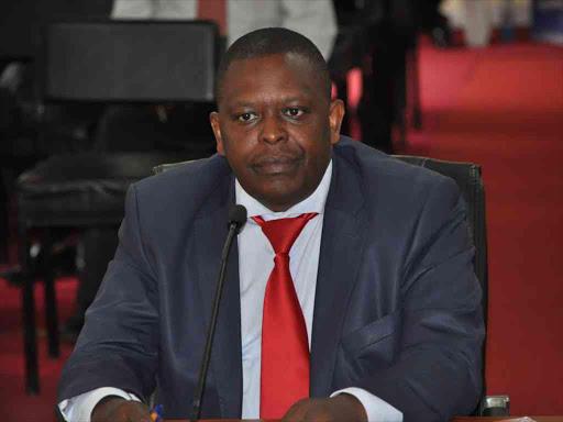 Suspended Kenya Medical Supplies Authority CEO Jonah Manjari Mwangi