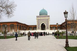 Imam Al-Bukhari mausoleum - Samarkand