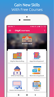 DigiCourses - Free Online Courses With Google for PC-Windows 7,8,10 and Mac apk screenshot 1