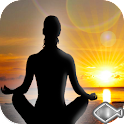 Meditation relax music sleep icon