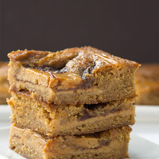 Apple Butter Cheesecake Blondies Recipe