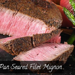 Pan Seared Filet Mignon