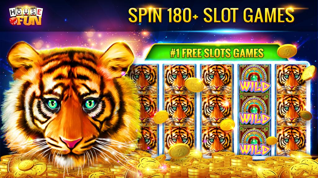 Free Slots Casino Games - House of Fun by Playtika- screenshot