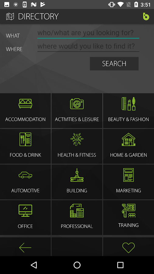 Bartercard Mobile App- screenshot