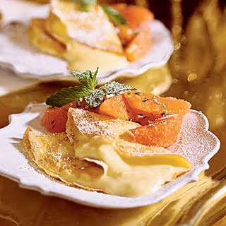 Louisiana Citrus Crepes.