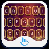 TouchPal Fire Keyboard Theme