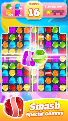 Jelly Jam Crush - Match 3 Games & Free Puzzle Game filehippodl screenshot 7