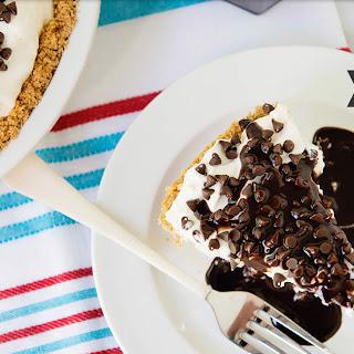 Frozen S'mores Ice Cream Pie