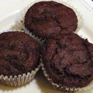 Chocolate-Zucchini Muffins.