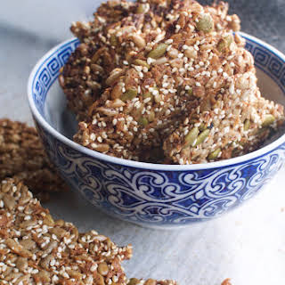 Three Seed Brittle With Coconut.