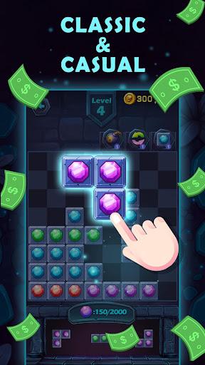 Lucky Puzzle - Play the Unique Tetris & Get Reward 1.1 screenshots 1