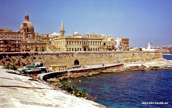 Photo: 1996-07-07. Valletta. English Curtain.  www.loki-travels.eu