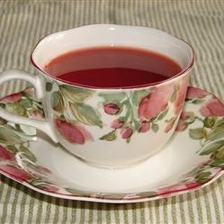 Fuss Free Hot Cranberry Tea.