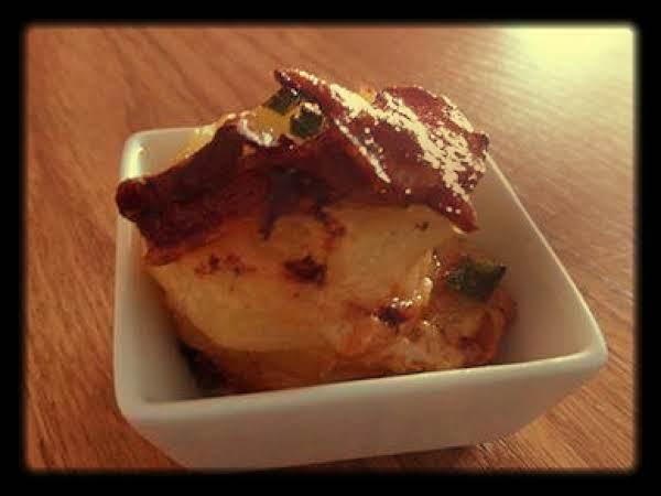 Bacon Parmesan Potato Stacks