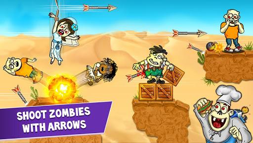 Zombie Archery ud83cudff9 - Zombies Arrow shooting Games 1.2.1 screenshots 1