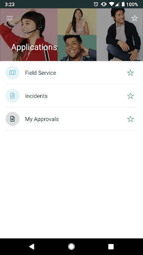 Screenshot for ServiceNow Agent in United States Play Store