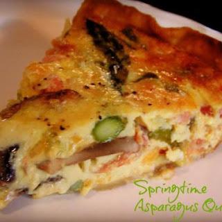 Springtime Asparagus Quiche