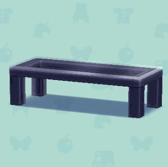 ツートンローテーブル