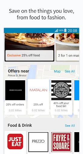 vouchercloud: deals & offers screenshot 2