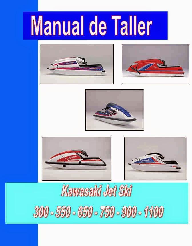 jet ski kawasaki manual taller - servicio- mecanica y despiece
