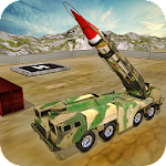 Army War Missile Cargo Truck Icon