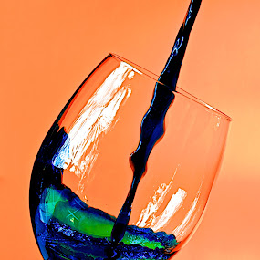 Wine Glass by Samson Calma - Food & Drink Alcohol & Drinks ( wine, water, wine glass, glass )