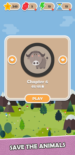 Animal Escape - Rescue Pet Puzzle screenshot 1
